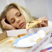 Sonno e cibo spazzatura